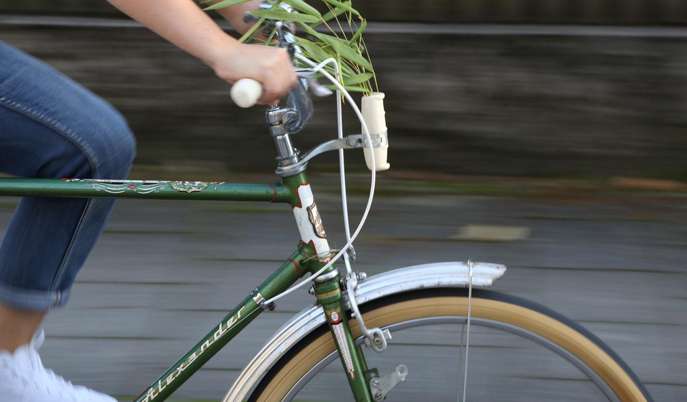 Produkt - Grips - Grips for vintage bikes, mit Vase