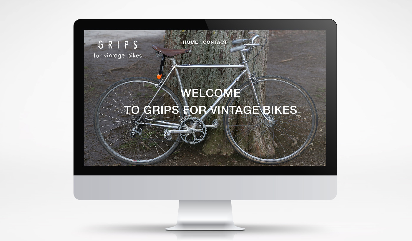 Webdesign, Onlineshop - Grips for vintage bikes