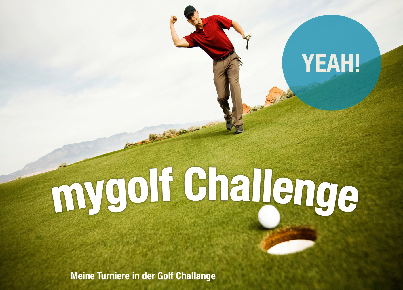screendesign mygolf challenge turniere