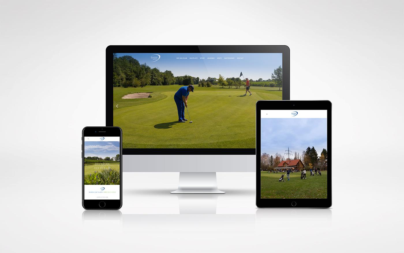 Webdesign - Golfclub München
