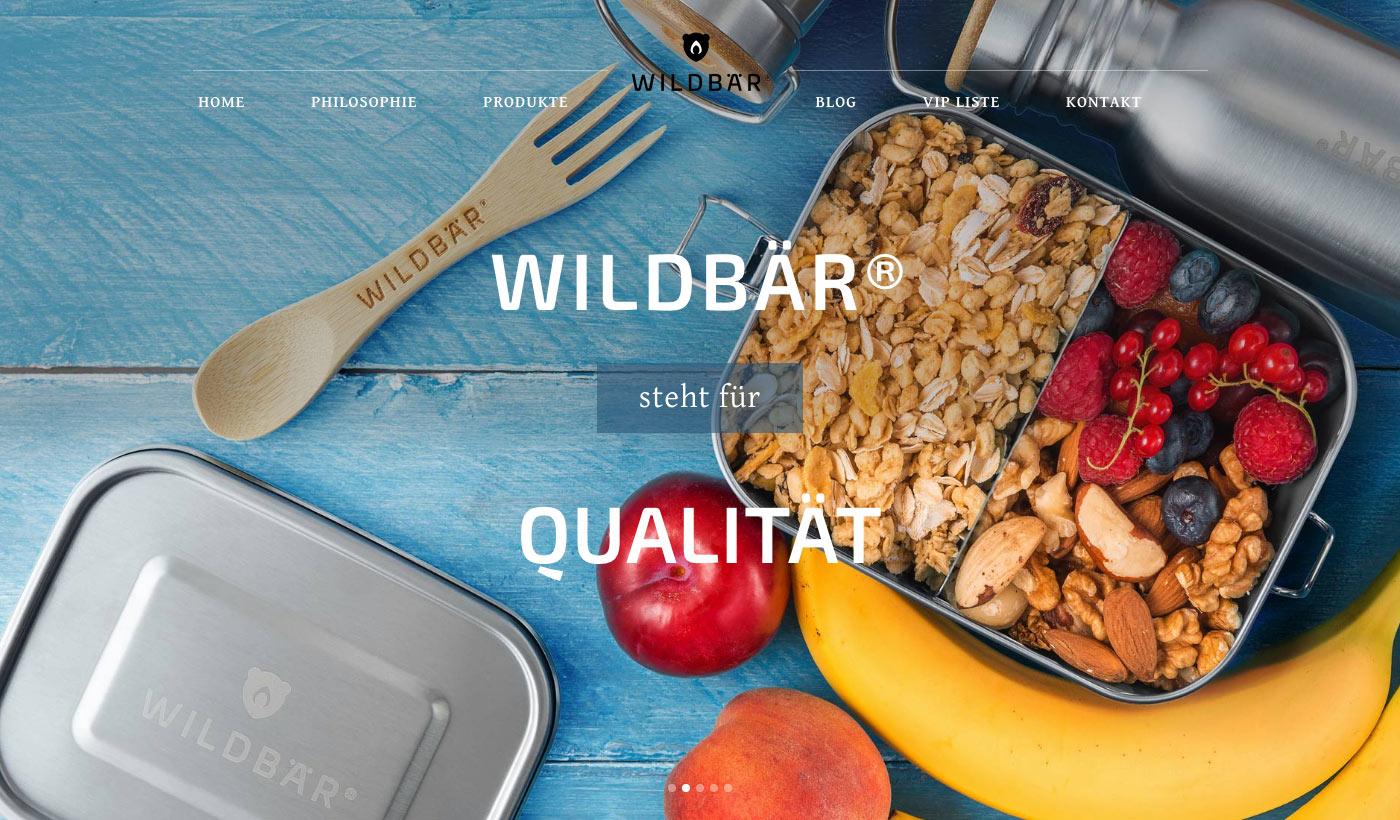 Wildbär steht für Qualität